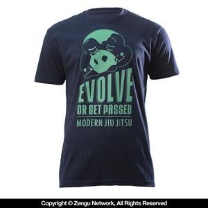 Inverted Gear Evolve T-Shirt - Blue